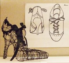 Wire Shoes by high school students