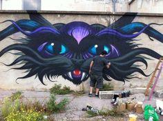 jeff soto mural - flood wall - richmond, va