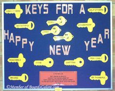 January - keys to a new year