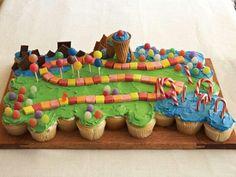 Candyland cupcake cake!