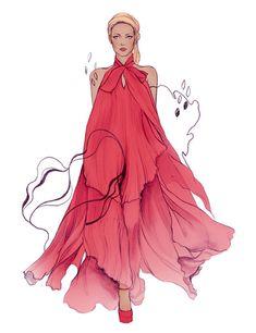50 Amazing Fashion Sketches | Cuded