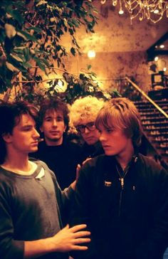 U2 circa the Boy album (1980). Bono (Paul Hewson), The Edge (David Evans), Adam Clayton, Larry Mullen Jr.  Having met at the Mount Temple Comprehensive School, the band was originally named The Larry Mullen Band, then Feedback, and The Hype, before renaming themselves as U2.