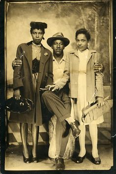 African American Group Portrait by Black History Album, via Flickr