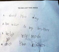 Do the what? kid art, kids writing, funny kids