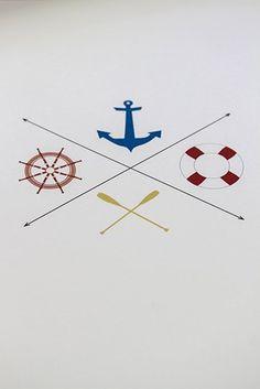 Nautical Print #nautical