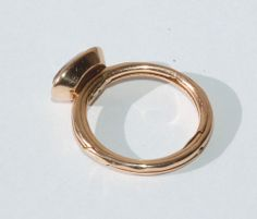 Armillary sphere ring stone (closed)