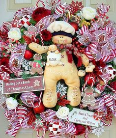 My love for gingerbread men...this is too cute!