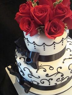 Anything but Ordinary Cakes & Cookies: Surprise 60th Birthday cake Birthday Cake For Women, Cake Rose, Image Details, Cupcakes Ideas, Elegant 60Th Birthday Cake, Cake Ideas, 60Th Birthday Ideas For Women, Cake For 60Th Birthday, Birthday Cakes