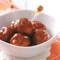 Sweet 'n' Spicy Meatballs Recipe