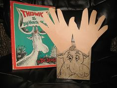 Thidwick the Big-Hearted Moose Handprint Craft