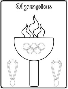 Ancient Greek Olympic Coloring Pages