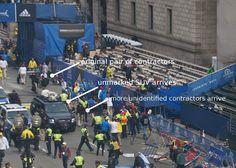 "Activist Post: ""Contractors"" at Boston Marathon Stood Near Bomb, Left Before Detonation"