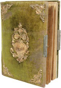 'antique' photo album