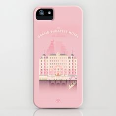 The Grand Budapest Hotel iPhone & iPod Case by Lorena G  - $35.00
