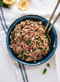 Herbed Quinoa and Po