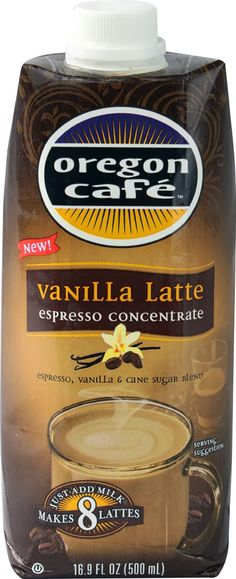#FREE @OregonCafe #Espresso #Latte Concentrate Mailed #Coupon | #coffee