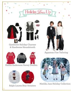 Holiday fashions for