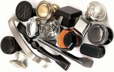 Great selection of knobs and pulls