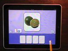 ABC Spanish Magic-Lectura mágica - This app practices blending Spanish phonemes.