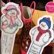 Gallery.ru / Все альбомы пользователя mikolamazur; Frosty Friends for bookmarks or make rulers, ornaments.