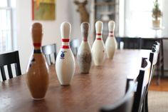 What to do with bowling pins?