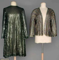 Two Sequined Halston Garments, 1960s, Augusta Auctions, April 9, 2014 - NYC, Lot 99