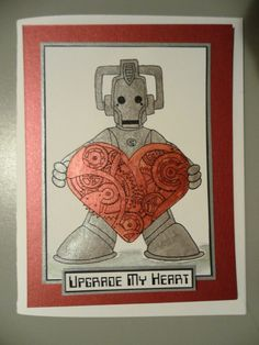Dr Who anniverary card