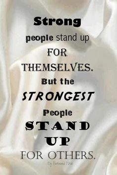 Always Stand For What Is Right
