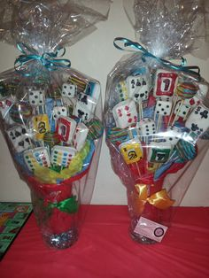 Take home favors at Game Party #party #games
