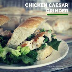 Chicken Caesar Grinder
