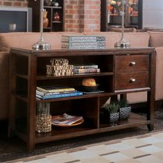 American Drew 912-925 Tribecca Sofa Table - ATG Stores