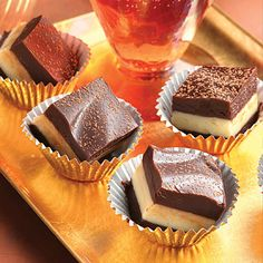 Amaretto Truffle Bars. Chocolate lovers get ready; this rich bar is sure to please!