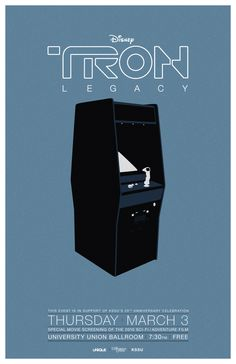 Tron: Legacy Poster - by Kenji Enos