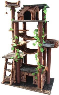 Amazon Cat Tree... not spending this kind of money on a cat tree... but could possibly decorate a cheaper one or make one myself.