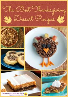 Need some inspiration for your Thanksgiving desserts this year? We have a collection of all of the best Thanksgiving Dessert Recipes just for you! From pumpkin pies to apple crisps, pecan bars to pumpkin bars and everything in between, you find them all in this holiday dessert recipe collection!