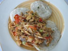 saltfish and dumpling