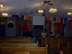 church, castl set