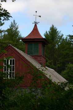 Old Red Barn  Cupola