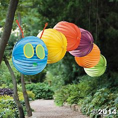 Create your own Hanging Caterpillar Decoration