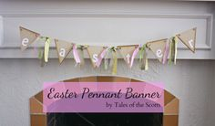 Easter Pennant Bunting