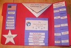 American Heritage Girls joining award lapbook. We created this in our troop a few years ago. It is now available to download on the AHG website under troop resources, or you can email me for the files. Check out my profile here or on my blog for my email.