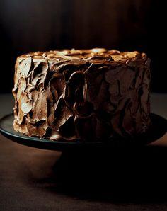 chocolate on chocolate.