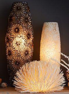 Ocean inspired light fixtures
