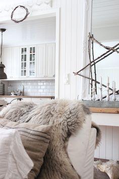 decor, interior, winter, christmas holidays, natur christma