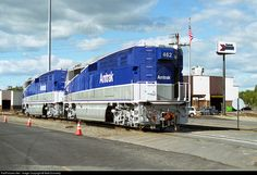 AMTK 462 Amtrak EMD F59PHI at Rensselaer, New York by Matt Donnelly