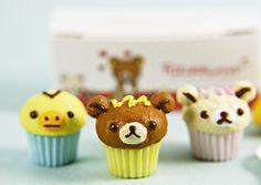 Rilakkuma cupcakes