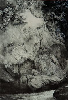 Study of Gneiss Rock by John Ruskin