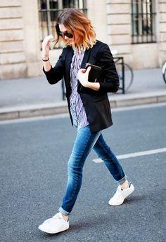Blazer + Blue Jeans