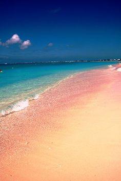 pink beach @ grand cayman