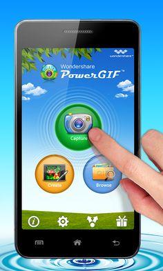 Wondershare PowerGIF v2.3.0, new UI design